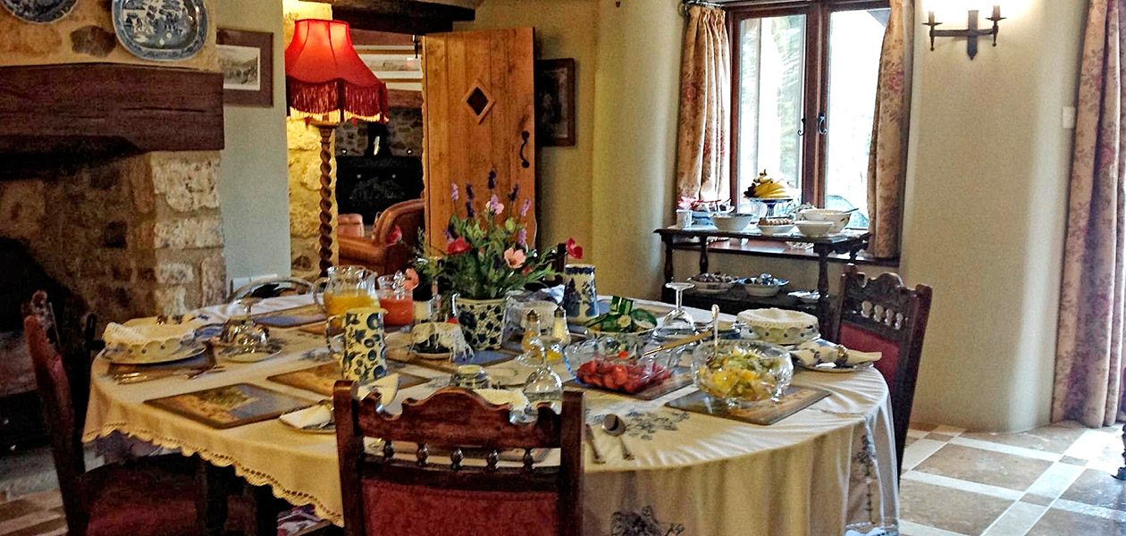 Breakfast at Baldash Cottage